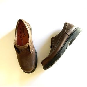 Timberland Brown Smart Leather Lace Up Loafers